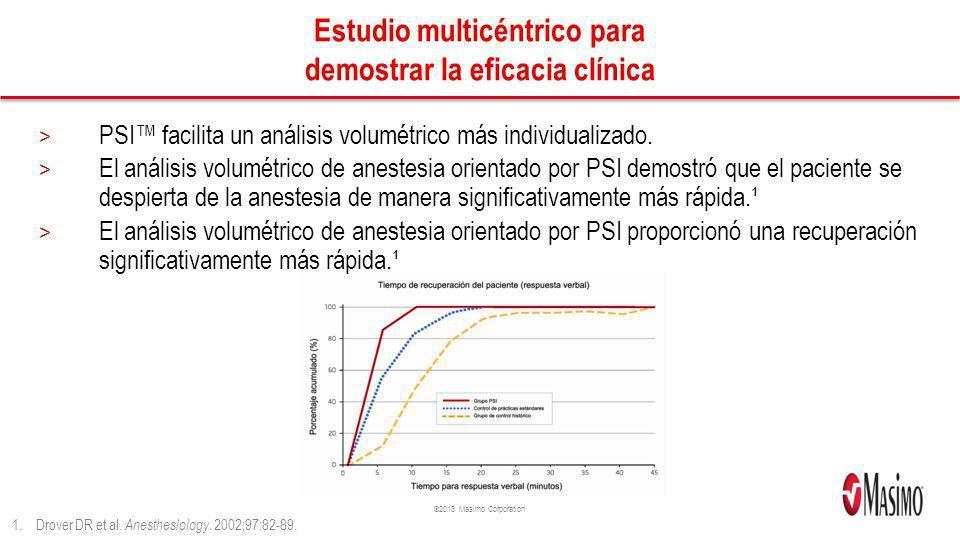 Estudio multicéntrico para demostrar la eficacia clínica