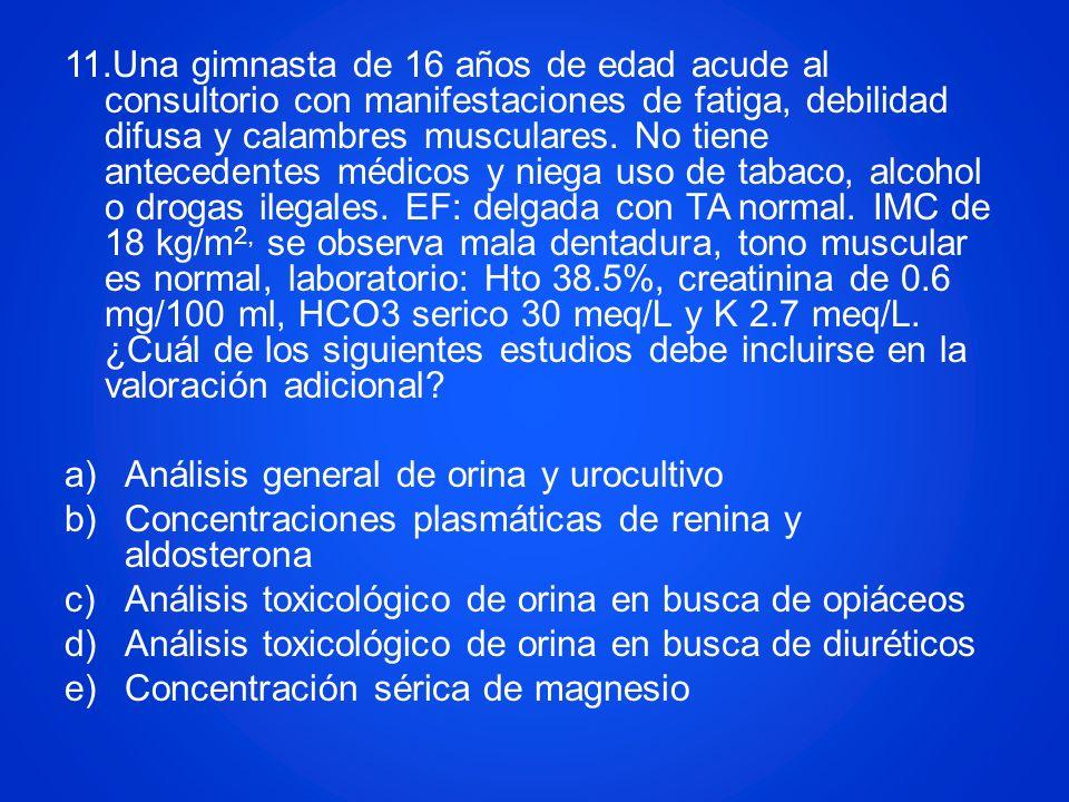 Análisis general de orina y urocultivo