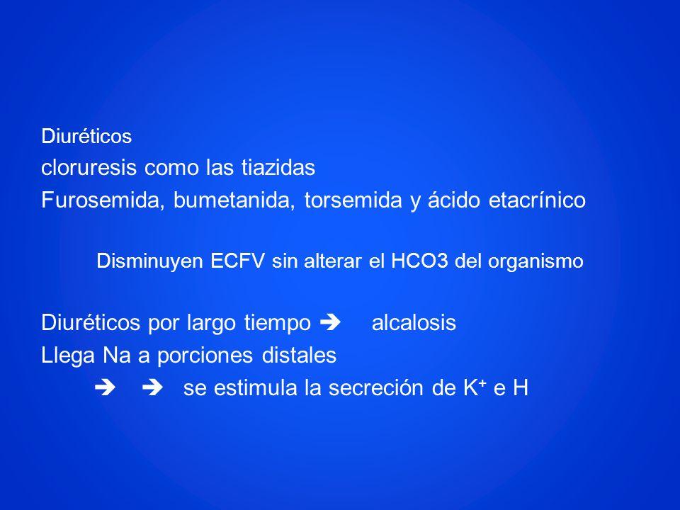 Disminuyen ECFV sin alterar el HCO3 del organismo