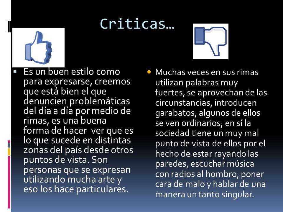 Criticas…