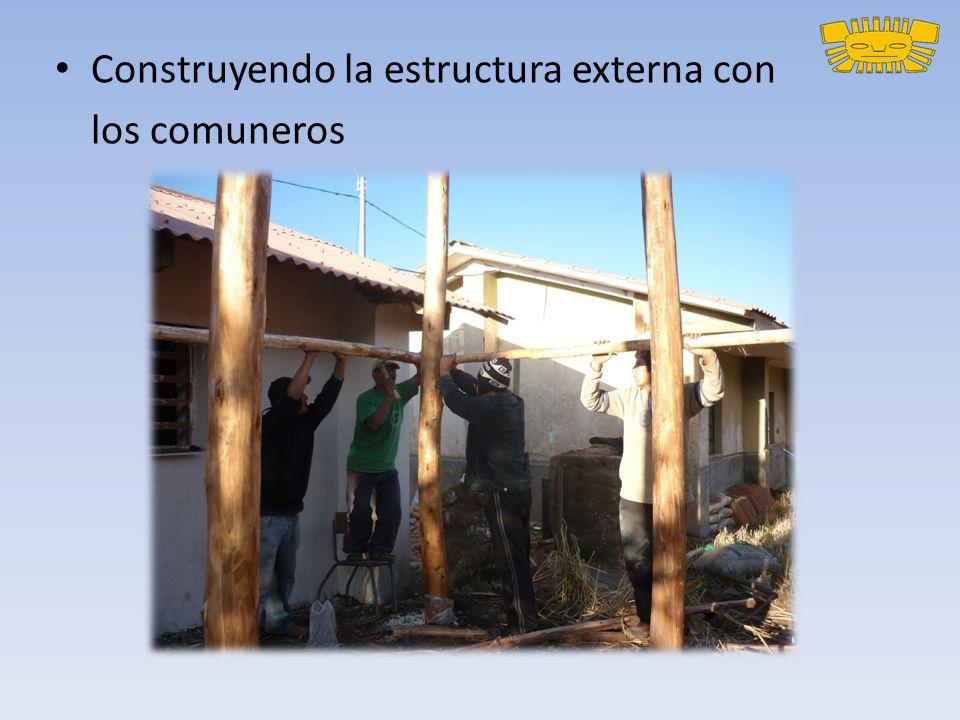 Construyendo la estructura externa con