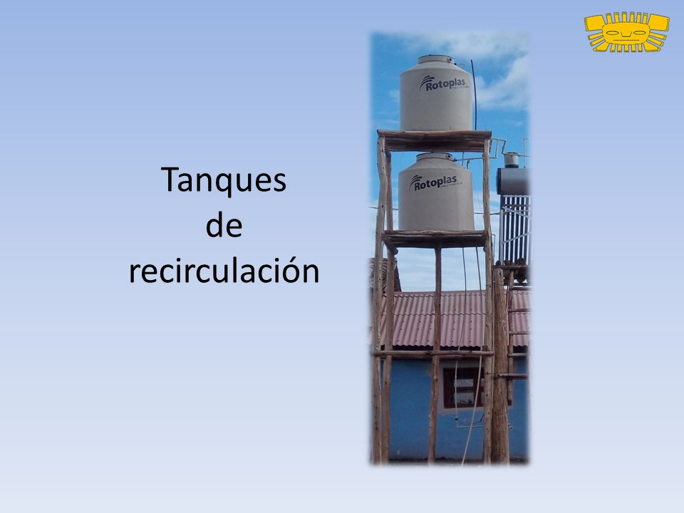 Tanques de recirculación