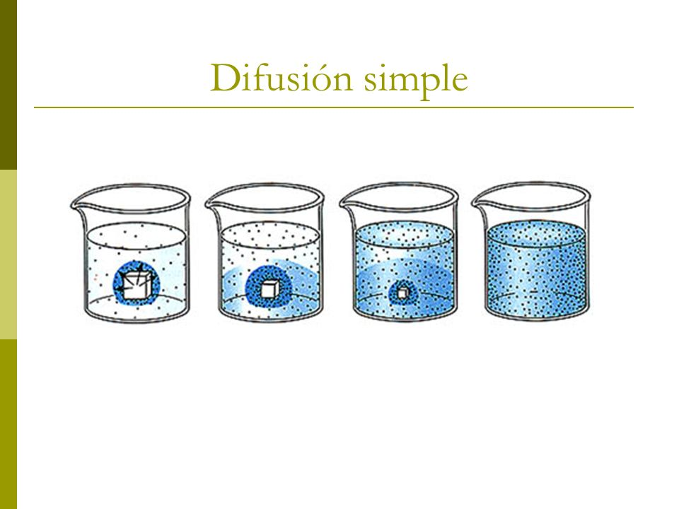 Difusión simple