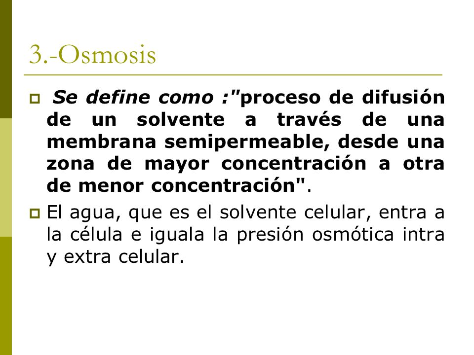 3.-Osmosis