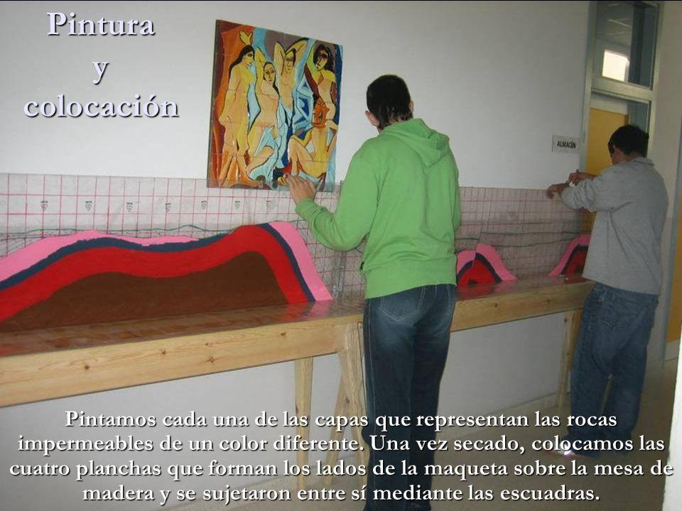 Pintura y colocación