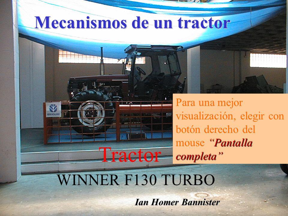 Tractor Mecanismos de un tractor WINNER F130 TURBO