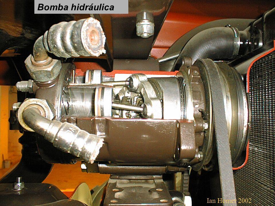 Bomba hidráulica Ian Homer 2002