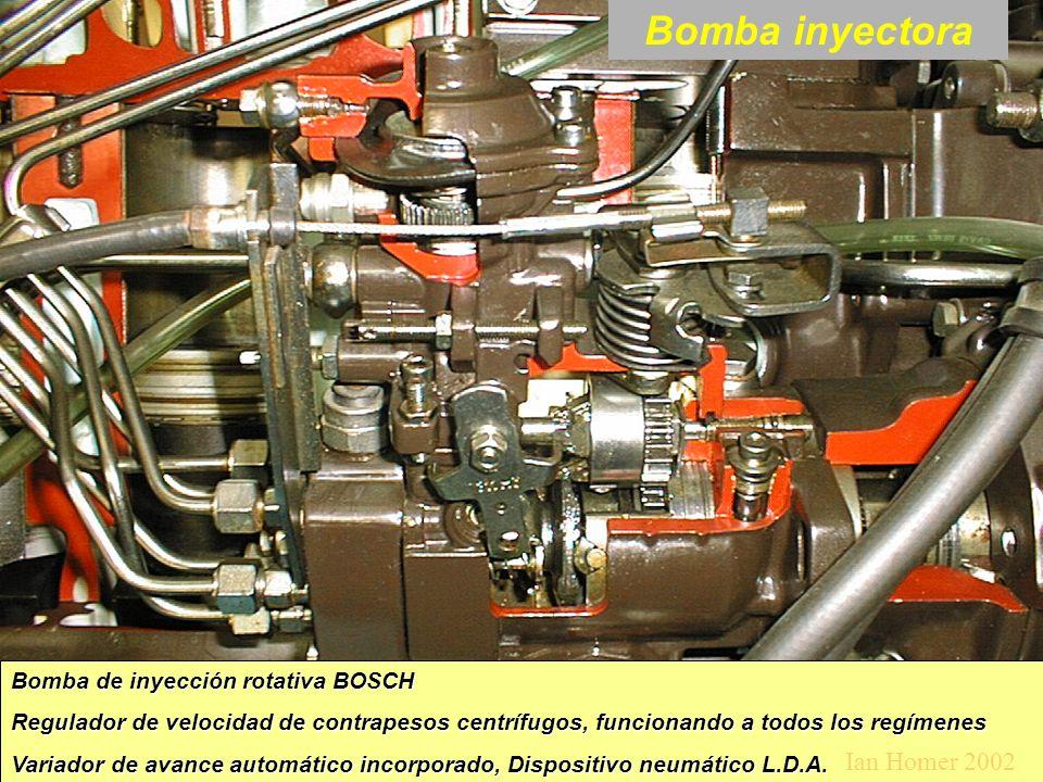 Bomba inyectora Ian Homer 2002 Bomba de inyección rotativa BOSCH
