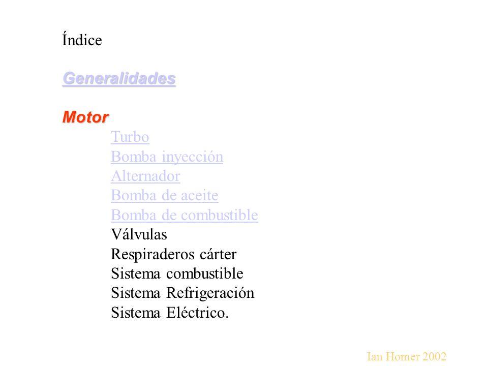 Sistema Refrigeración Sistema Eléctrico.
