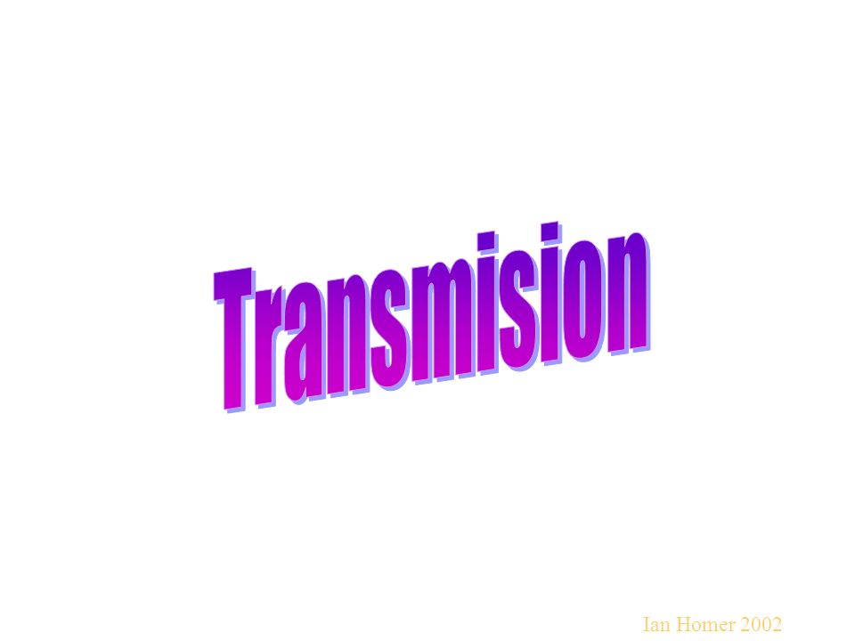 Transmision Ian Homer 2002