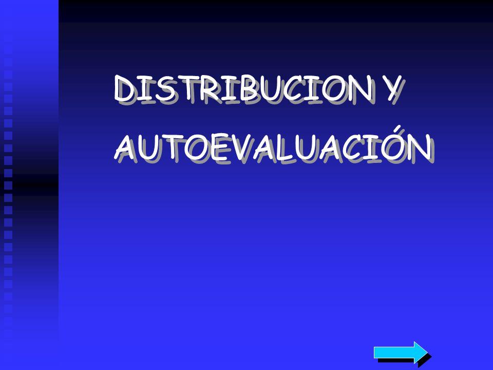 DISTRIBUCION Y AUTOEVALUACIÓN