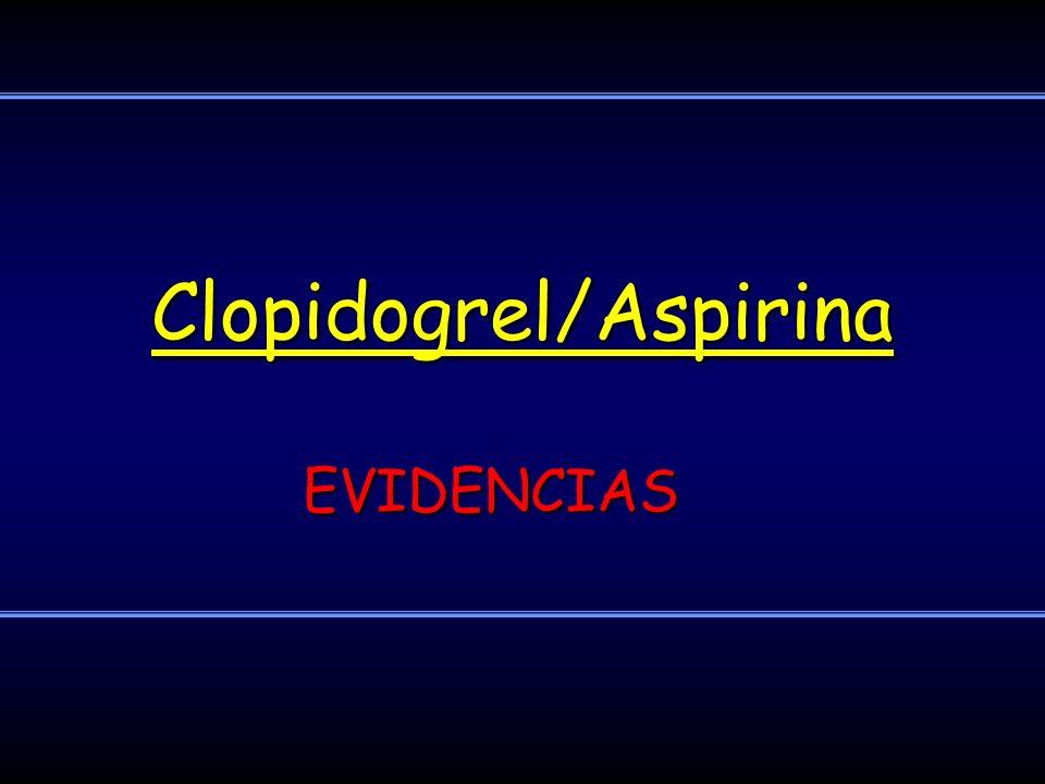 Clopidogrel/Aspirina
