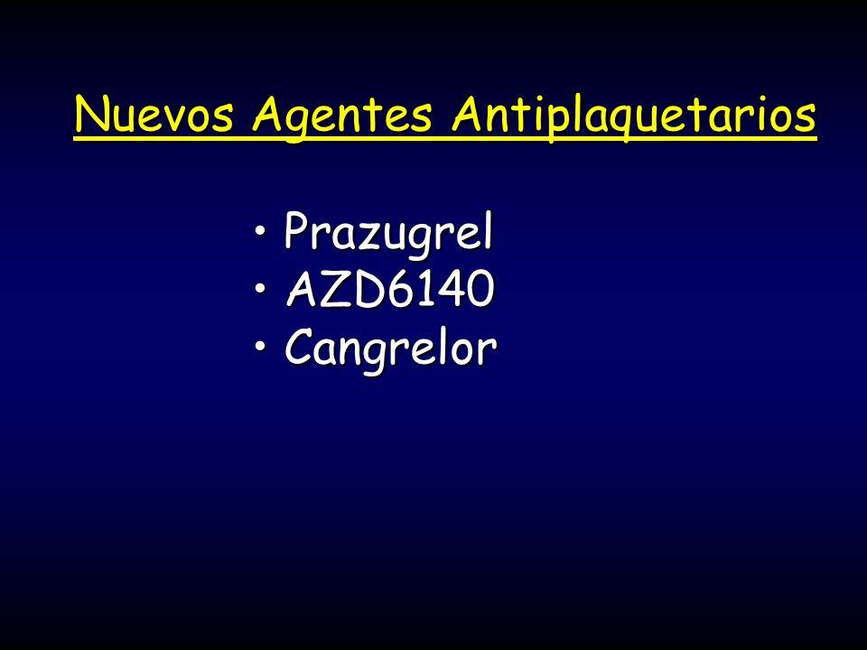 Nuevos Agentes Antiplaquetarios
