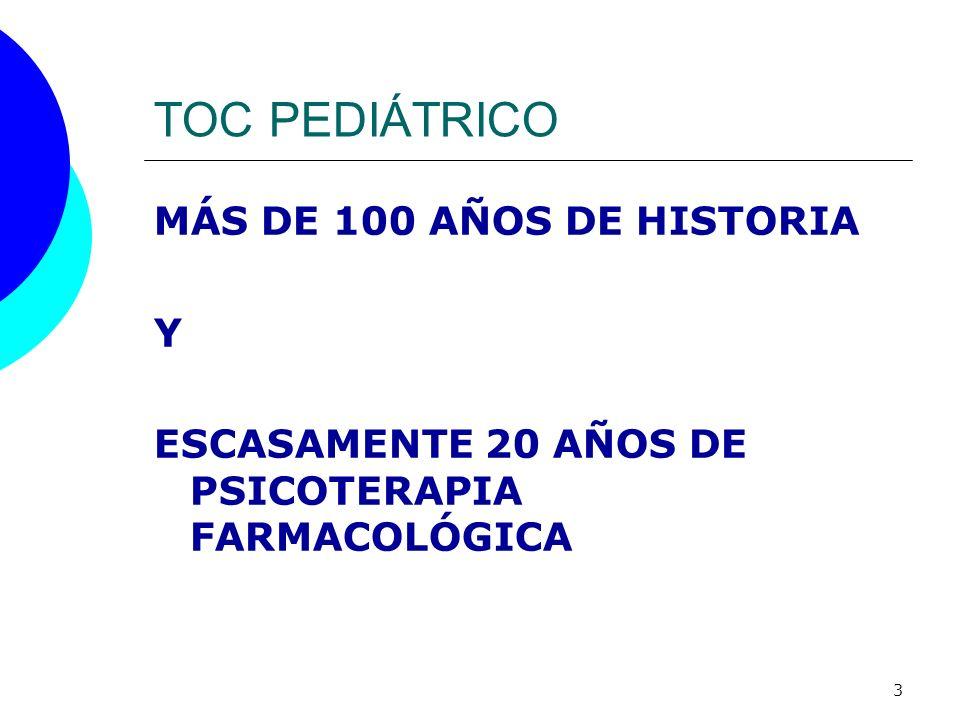 TOC PEDIÁTRICO MÁS DE 100 AÑOS DE HISTORIA Y