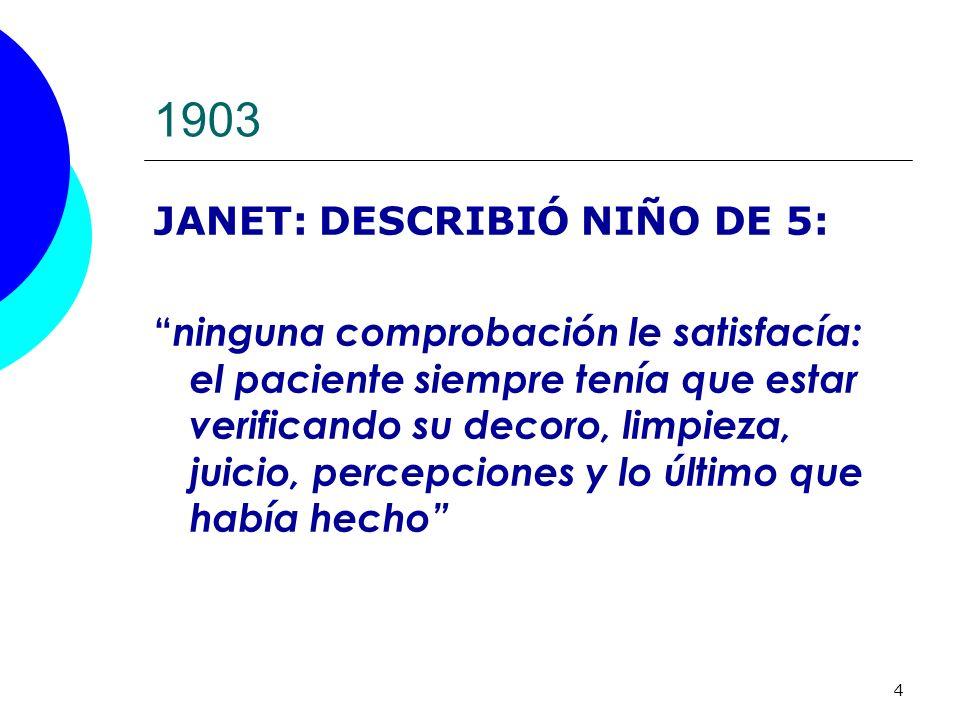 1903 JANET: DESCRIBIÓ NIÑO DE 5: