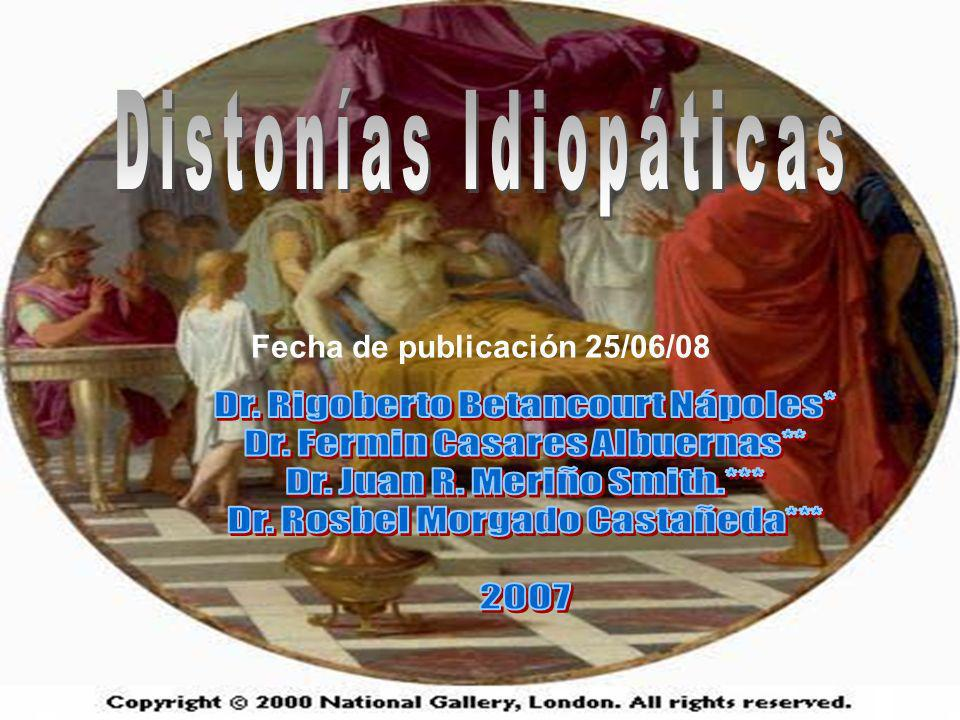 Distonías Idiopáticas