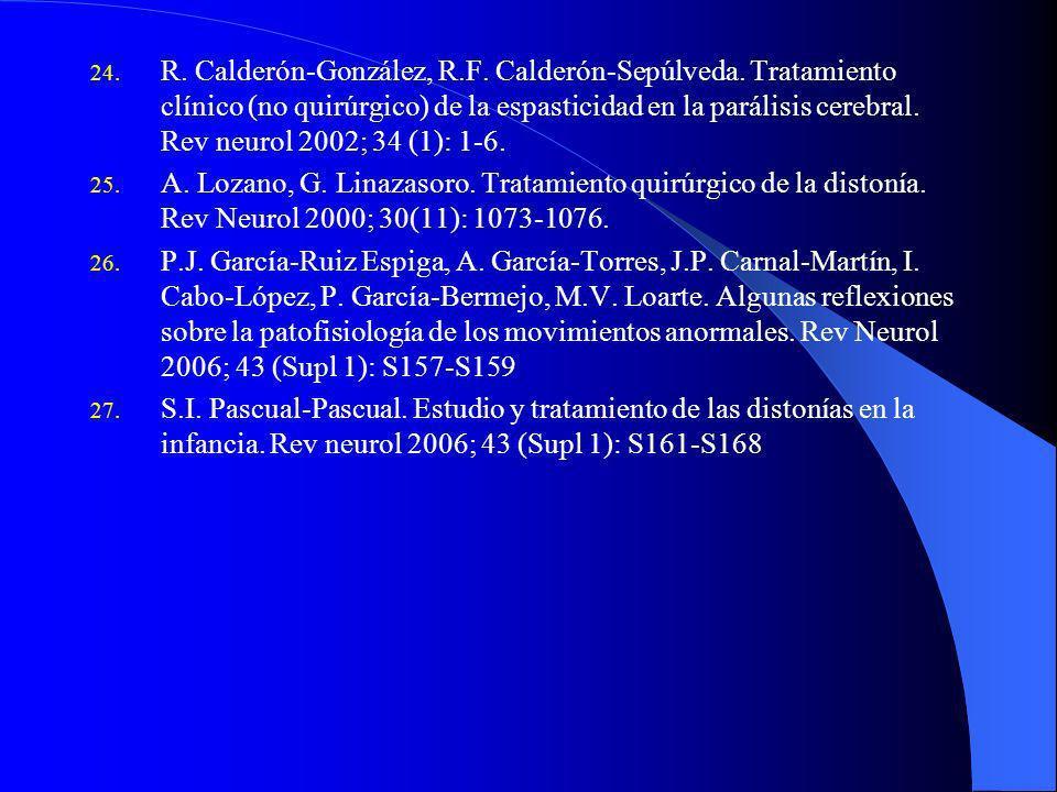 R. Calderón-González, R. F. Calderón-Sepúlveda