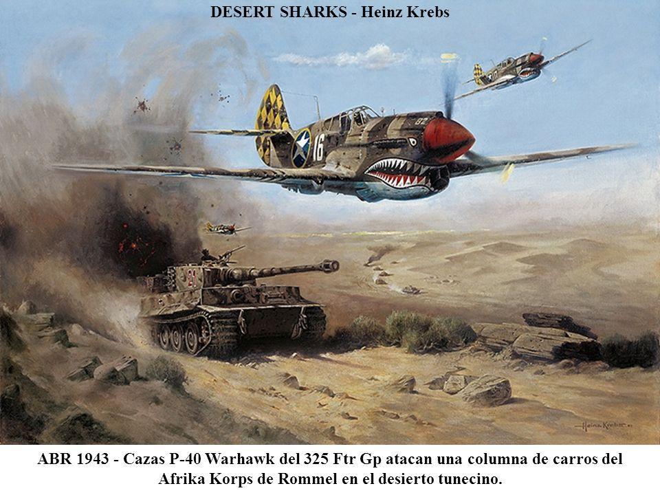 DESERT SHARKS - Heinz Krebs