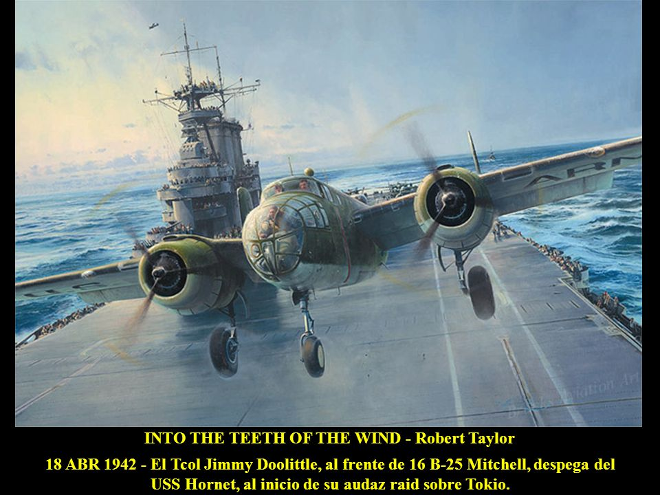 INTO THE TEETH OF THE WIND - Robert Taylor