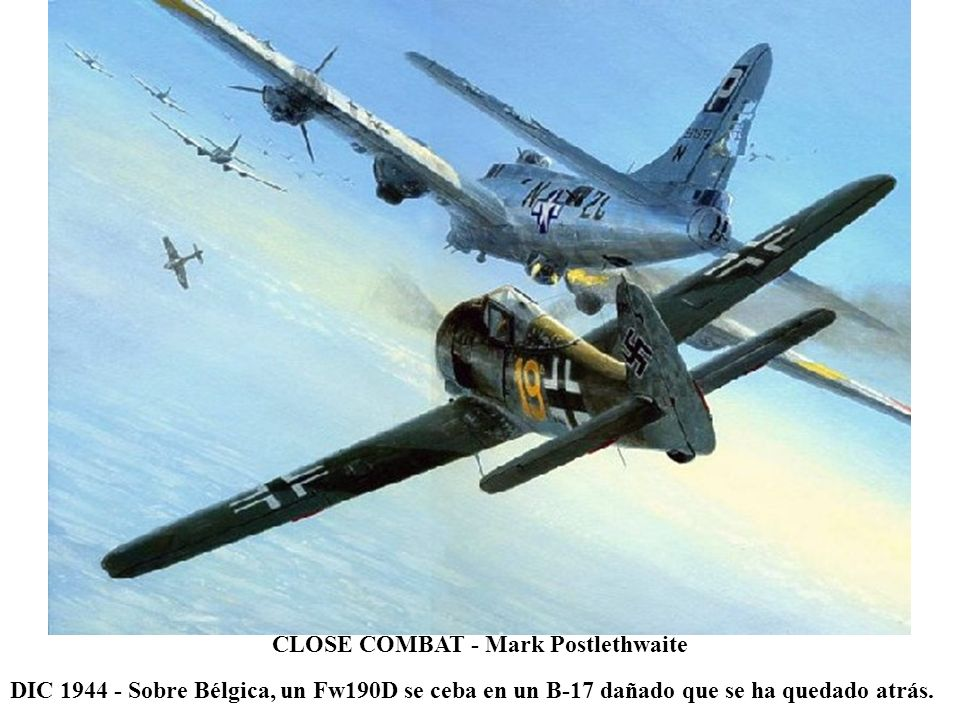 CLOSE COMBAT - Mark Postlethwaite