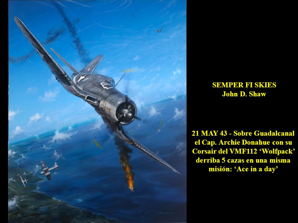 21 MAY 43 - Sobre Guadalcanal
