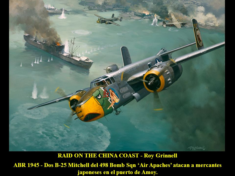 RAID ON THE CHINA COAST - Roy Grinnell