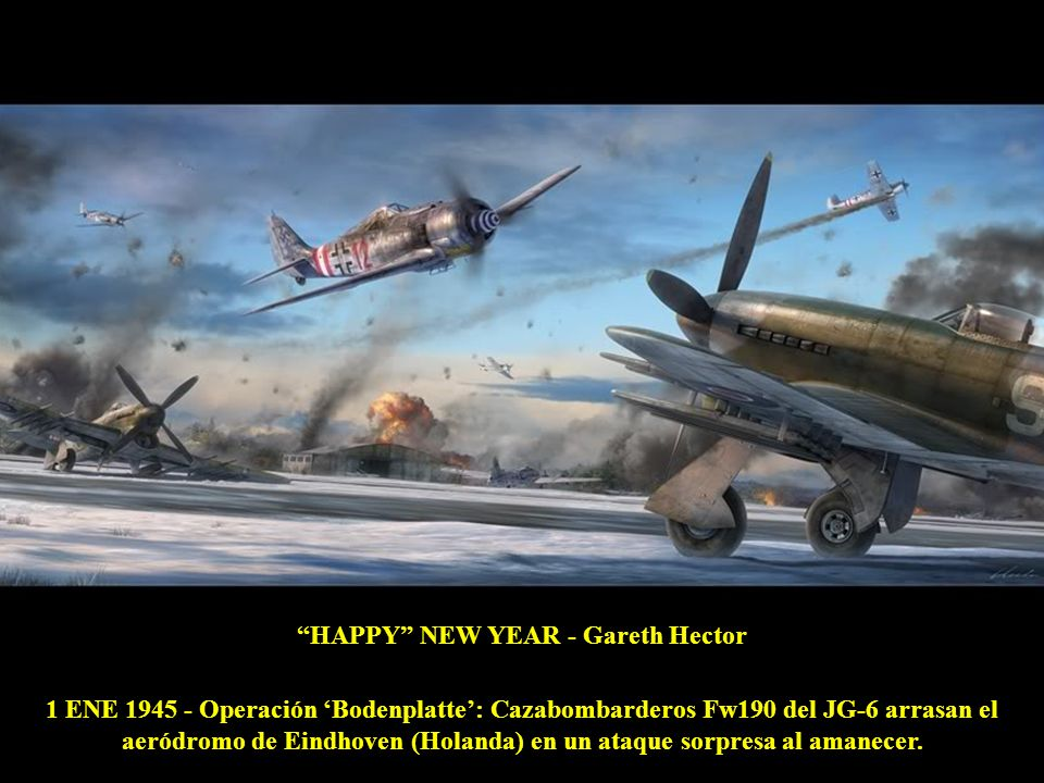 HAPPY NEW YEAR - Gareth Hector
