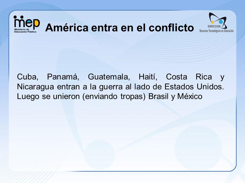 América entra en el conflicto