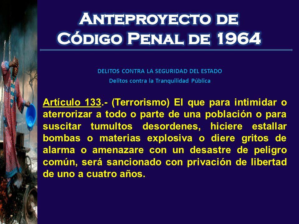 Anteproyecto de Código Penal de 1964