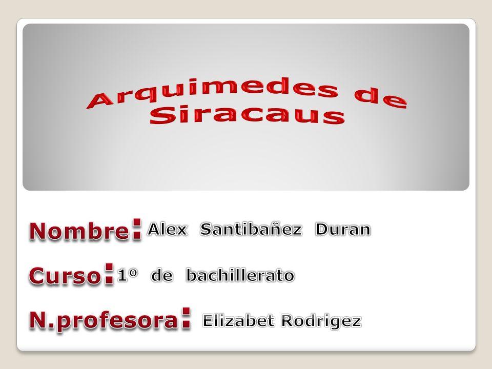 Arquimedes de Siracaus