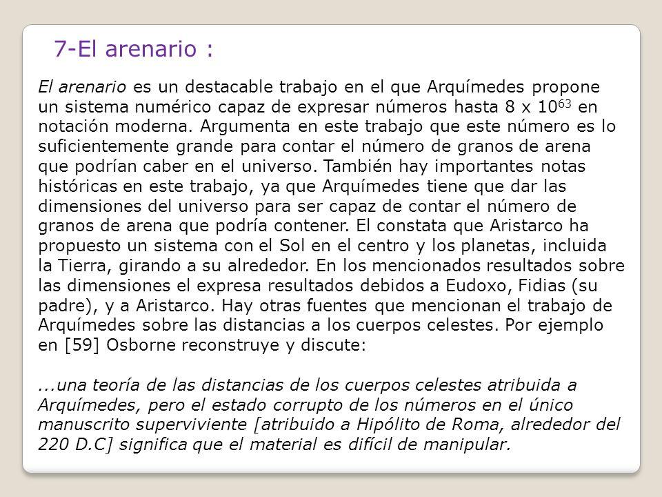 7-El arenario :