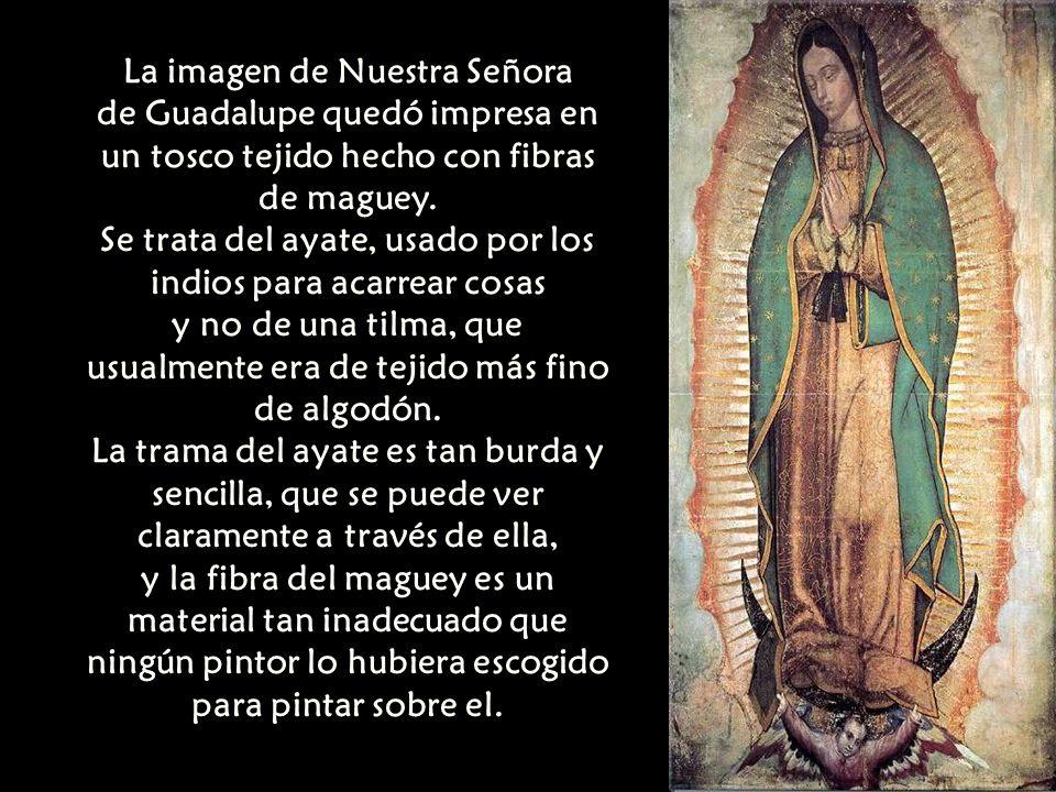 La imagen de Nuestra Señora