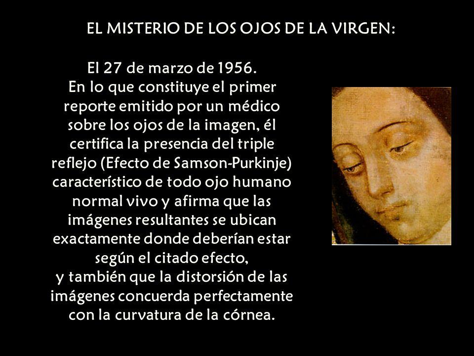 EL MISTERIO DE LOS OJOS DE LA VIRGEN: