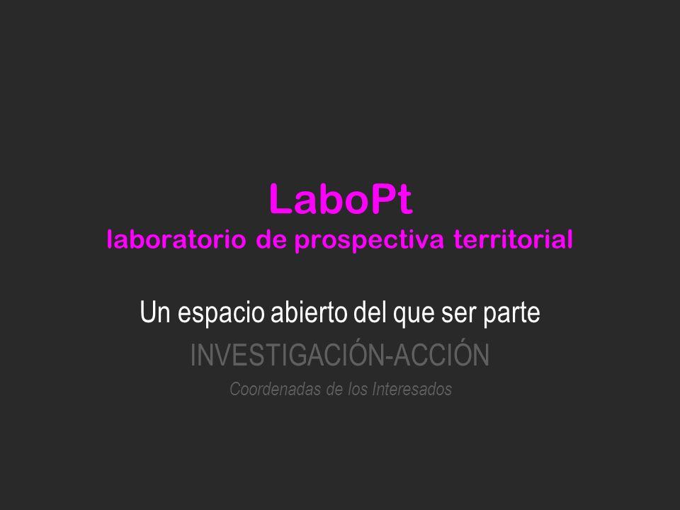 LaboPt laboratorio de prospectiva territorial