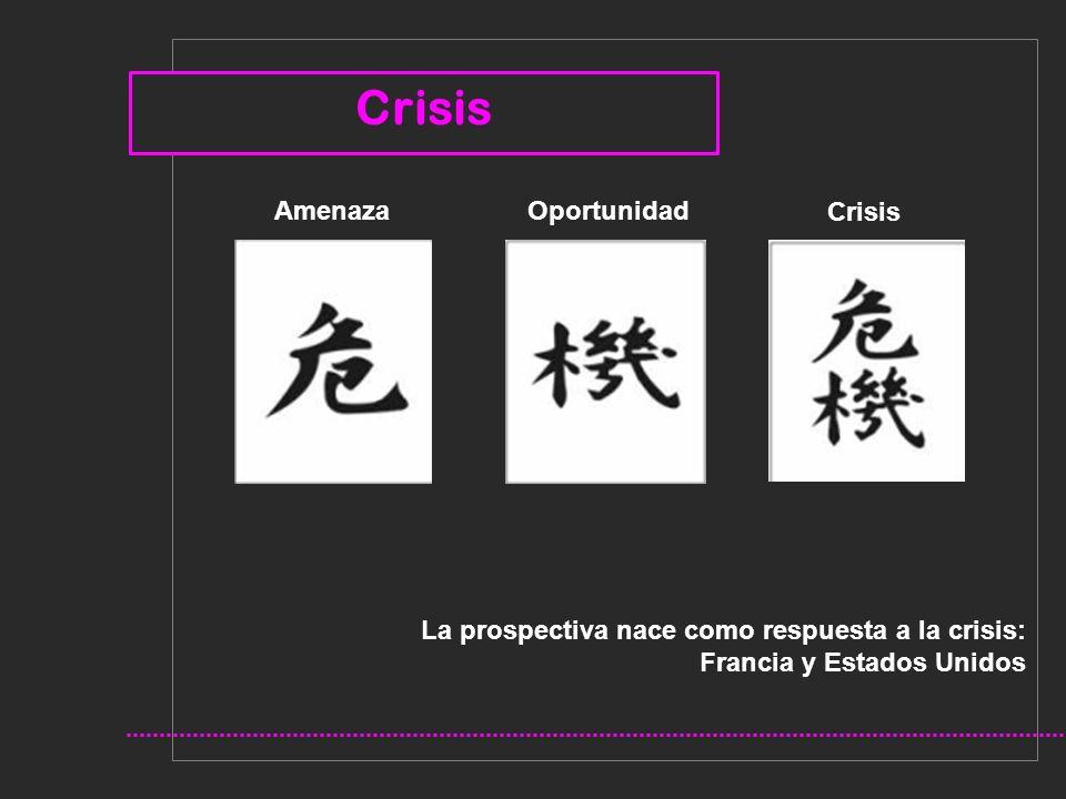 Crisis Amenaza Oportunidad Crisis