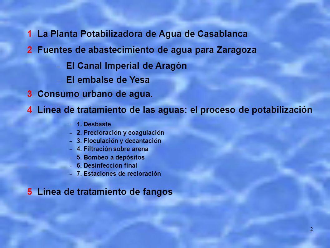 1 La Planta Potabilizadora de Agua de Casablanca