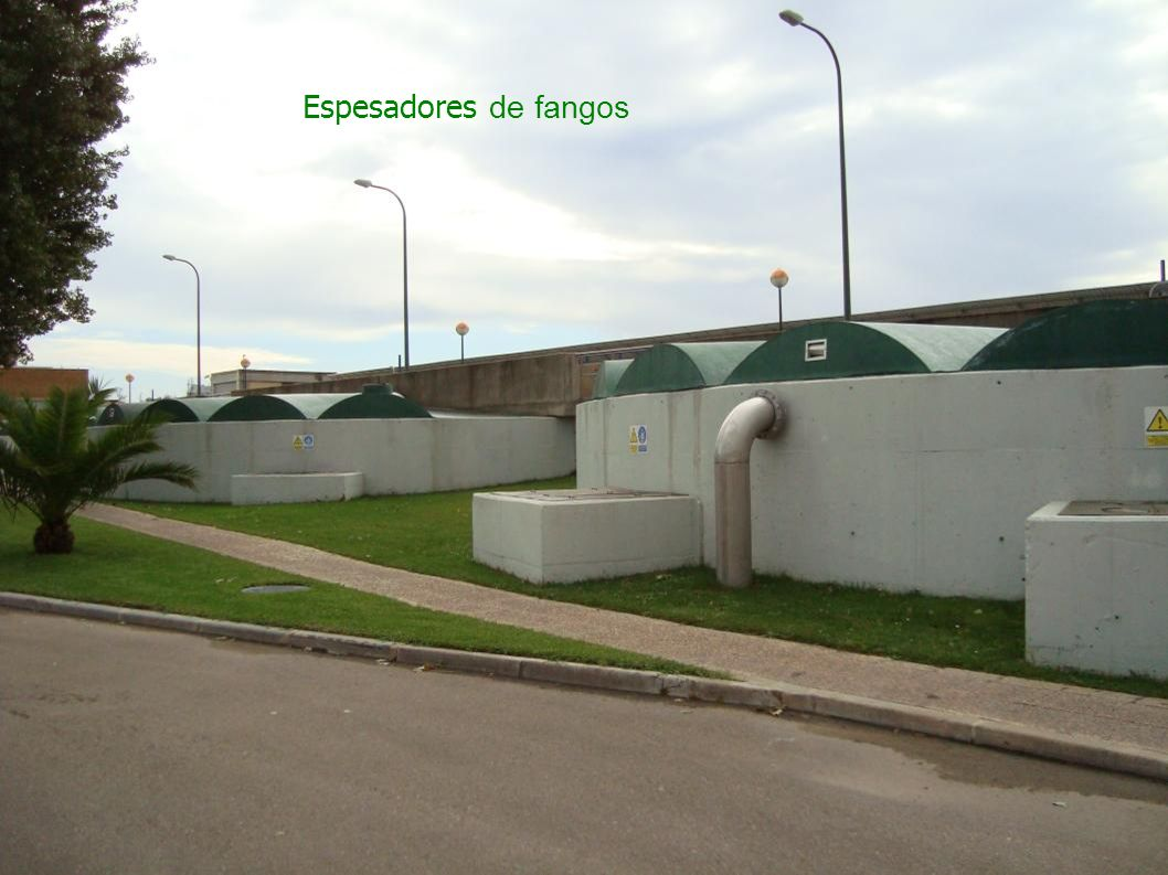 Espesadores de fangos