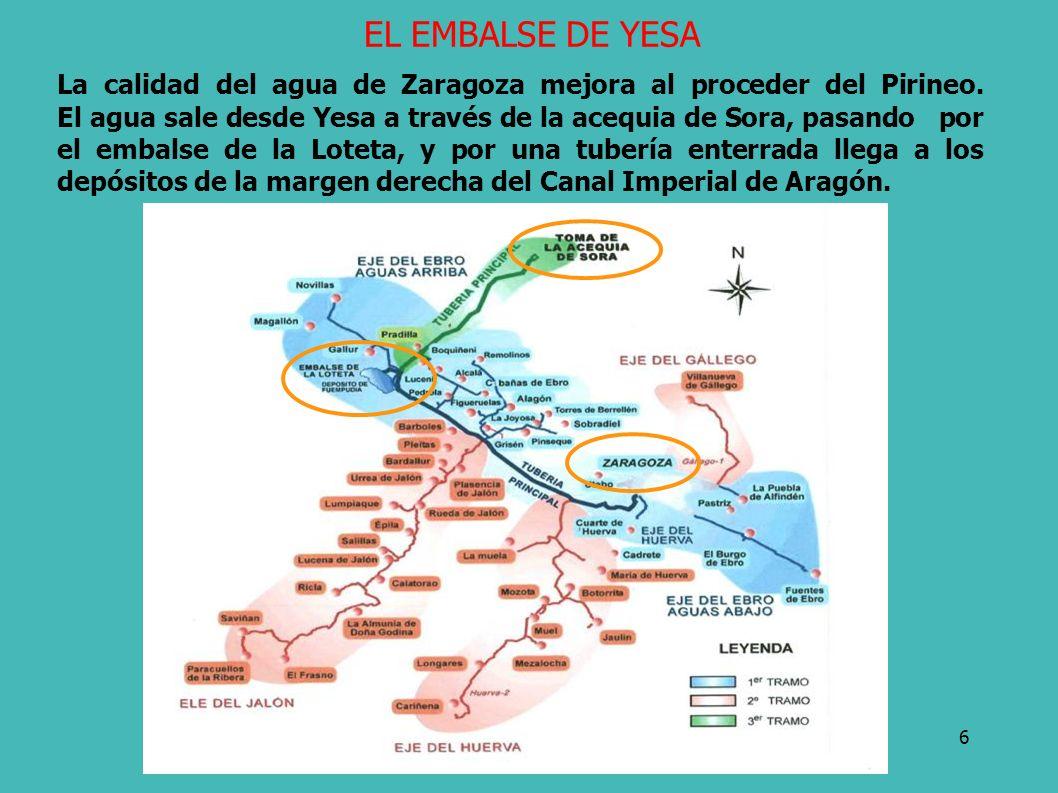 EL EMBALSE DE YESA