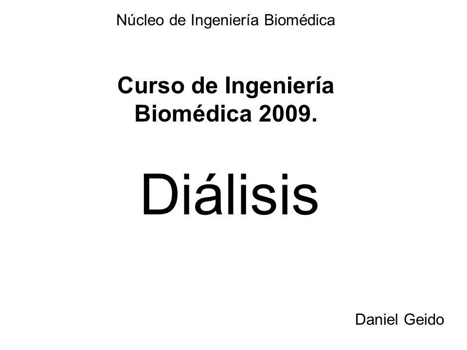 Curso de Ingeniería Biomédica 2009.