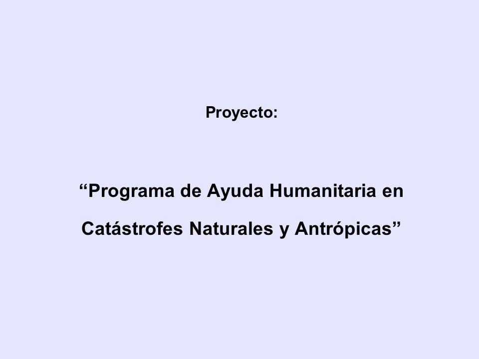 Programa de Ayuda Humanitaria en
