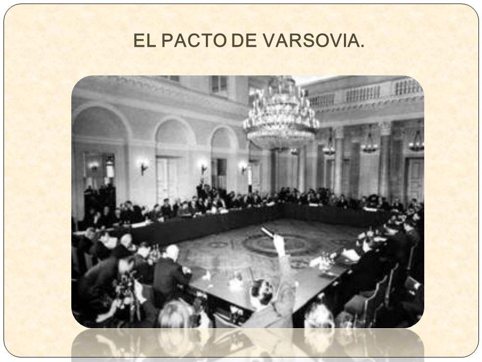 EL PACTO DE VARSOVIA.