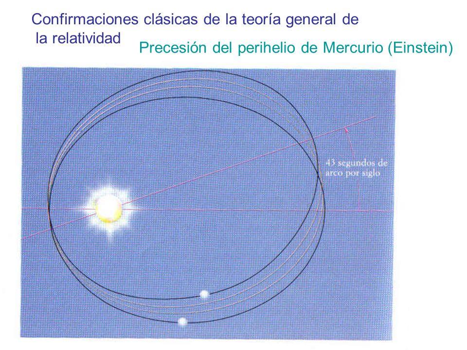 Confirmaciones clásicas de la teoría general de