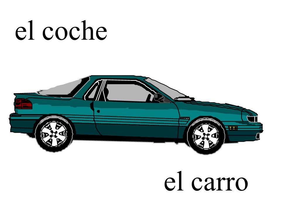 el coche el carro