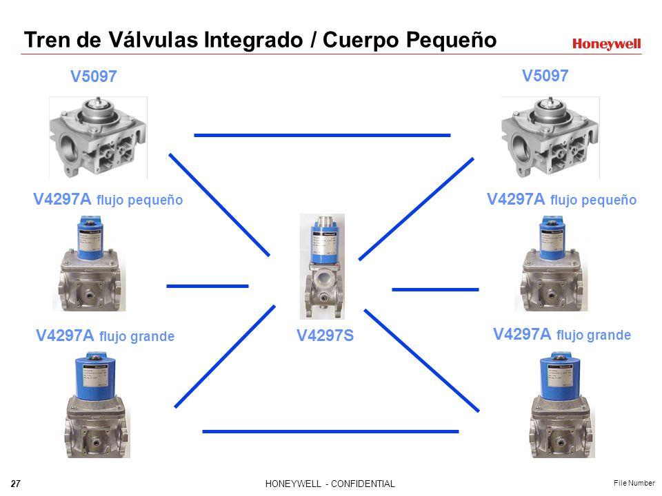 Tren de Válvulas Integrado / Cuerpo Pequeño