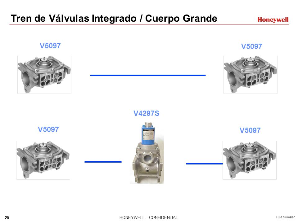Tren de Válvulas Integrado / Cuerpo Grande