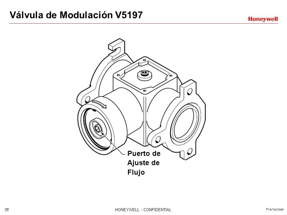 Válvula de Modulación V5197