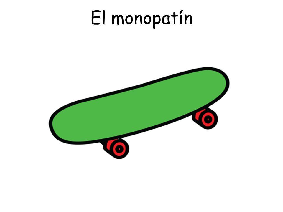 El monopatín