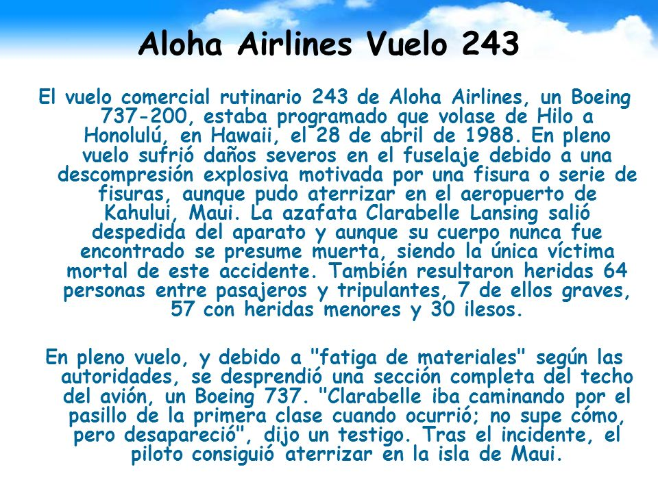 Aloha Airlines Vuelo 243