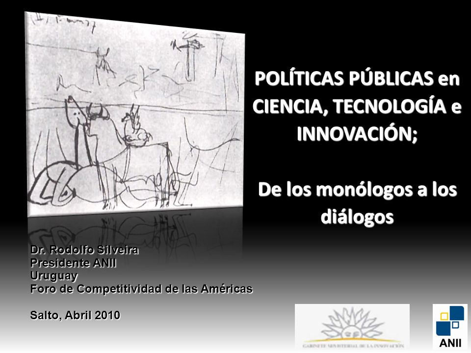 POLÍTICAS PÚBLICAS en CIENCIA, TECNOLOGÍA e INNOVACIÓN;