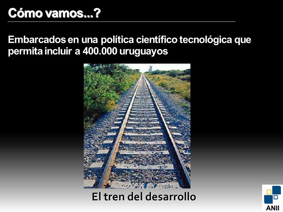 Cómo vamos... Embarcados en una política científico tecnológica que permita incluir a 400.000 uruguayos